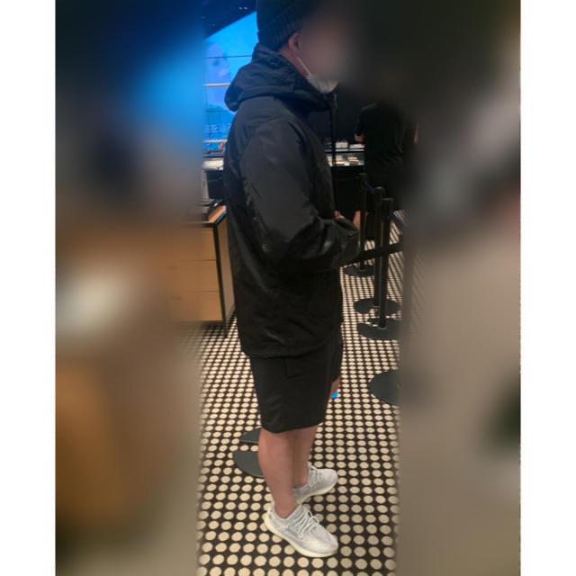 COACH(コーチ)のCOACH シグネチャー ウィンドブレーカー Lサイズ(日本XL相当) メンズのジャケット/アウター(ナイロンジャケット)の商品写真