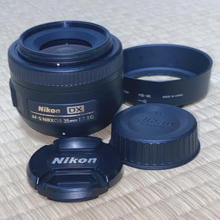 ニコン(Nikon)のNikon  AF-S DX NIKKOR 35mm f 1.8G(レンズ(単焦点))