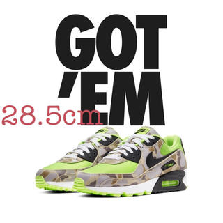NIKE - NIKE AIR MAX90 SP GREEN CAMO 28.5cm