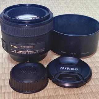 Nikon - 【フィルター付】Nikon AF-S NIKKOR 85mm f/1.8G