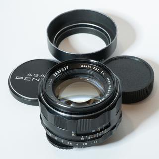 PENTAX - 謎美品!旭光学Super-Takumar 50mm f1.4 ペンタックス