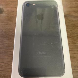 Apple - iPhone7 32GB ブラック simロック解除