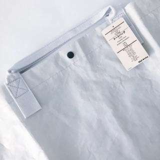 MUJI (無印良品) - 新品 無印良品 ポリエチレンシート トートバッグ
