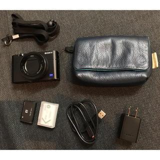 SONY - RX100M5A+社外バッテリー+カメラポーチ