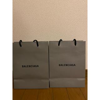 バレンシアガ(Balenciaga)のバレンシアガ ショップバッグ 二つ【明日まで】(ショップ袋)