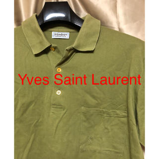 Yves Saint Laurent ポロシャツ メンズ