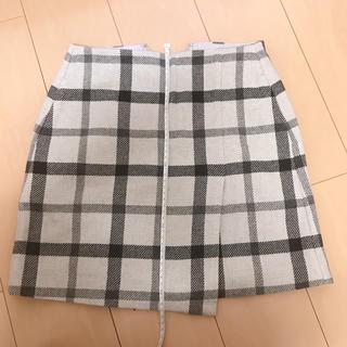 ユニクロ(UNIQLO)のUNIQLO ラップスカート(ミニスカート)