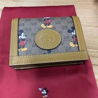 グッチ(Gucci)の新品 ディズニー グッチ ミッキー 折り財布 DISNEY(財布)