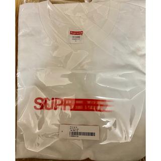 Supreme - シュプリーム モーションロゴ Tシャツ ホワイト Lサイズ