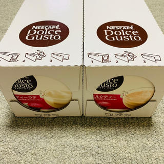 Nestle - ネスレ ドルチェグスト ティーラテ3箱    ミルクティー3箱