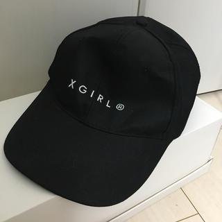 X-girl - キャップ 帽子 レディース   エックスガール ブラック