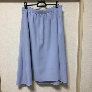 エフデ(ef-de)のエフデ♫ 13号  フレア ロングスカート(ひざ丈スカート)