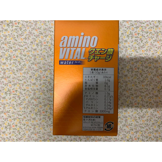 アジノモト(味の素)のアミノバイタル クエン酸チャージ 40本(トレーニング用品)
