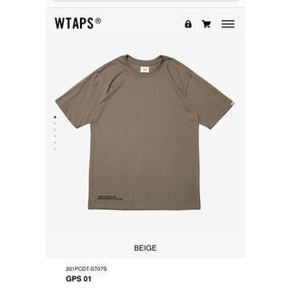 W)taps - 20SS wtaps GPS  Tシャツ サイズM ベージュ 新品