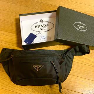 PRADA - 超美品  PRADA ボディバッグ ウエストバッグ
