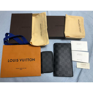 LOUIS VUITTON - ルイヴィトン ダミエ 札入れ&コインケース