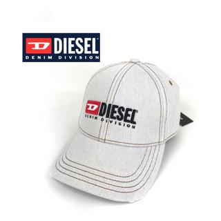 ディーゼル(DIESEL)のディーゼル キャップ 帽子 ライト インディゴ デニム フリー DIESEL (キャップ)
