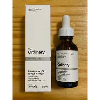 The Ordinary 新品レスベラトロール セラム 3% +フェルラ酸 3%