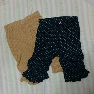 ニシマツヤ(西松屋)の裾フリル  パンツ(パンツ/スパッツ)