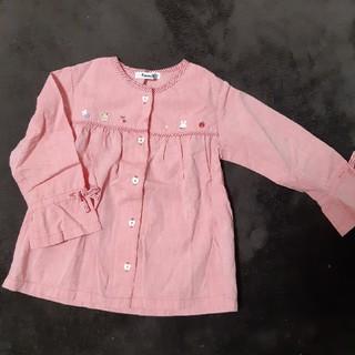 ファミリア(familiar)のfamiliar 長袖 100(Tシャツ/カットソー)
