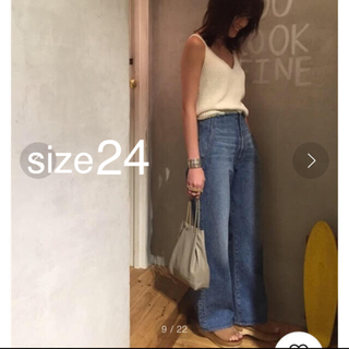 TODAYFUL - TODAYFUL  NICOLe's Denim 24 ※丈詰めあり