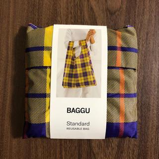 BEAMS - BAGGU  standard  バグゥ チェック タータン