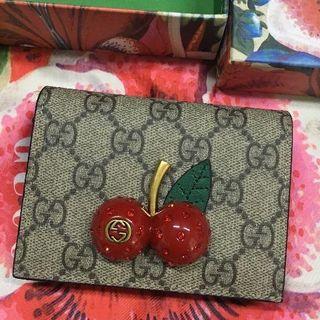 グッチ(Gucci)のグッチ チェリー 財布 ミニ コインケース カードケース(財布)