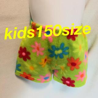kids150size♡フリース生地 ショートパンツ 美品(パンツ/スパッツ)