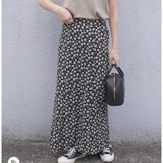Kastane - kastane 中花柄マーメイドスカート