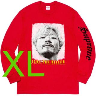 Supreme - XL Supreme Ichi The Killer L/S Tee 赤