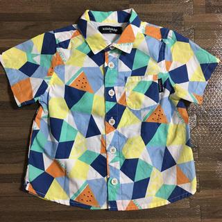 クレードスコープ(kladskap)の美品 クレードスコープ 半袖シャツ 90cm(ブラウス)