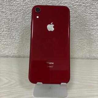 iPhone - iPhone XR RED 本体 64GB SIMフリー