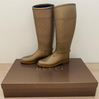 グッチ(Gucci)のGUCCI★グッチ・長靴(レインブーツ)、サイズ37   (レインブーツ/長靴)