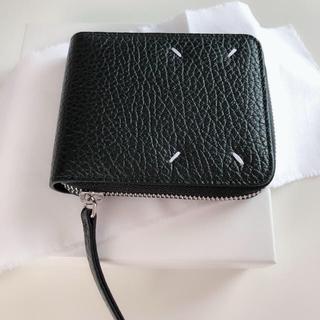 マルタンマルジェラ(Maison Martin Margiela)のMAISON MARGIELA マルジェラ コンパクト レザー ジップ 折財布(折り財布)