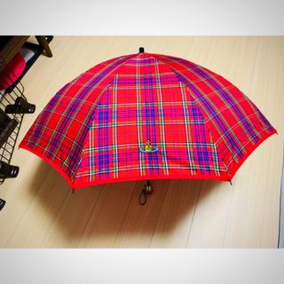 ヴィヴィアンウエストウッド(Vivienne Westwood)の✳︎美品・稀少!✳︎vivienne 赤マック 折りたたみ傘 ※本日限定値下げ(傘)