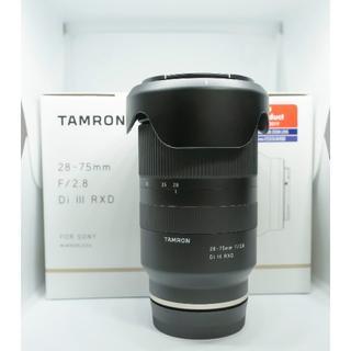 TAMRON - TAMRON 28-75mm F/2.8 Di III RXD ソニー用