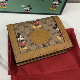 グッチ(Gucci)のGUCCI ディズニー グッチ ミッキー 折り財布(財布)