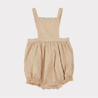 Caramel baby&child  - caramel baby&child Green PolkaDot Romper