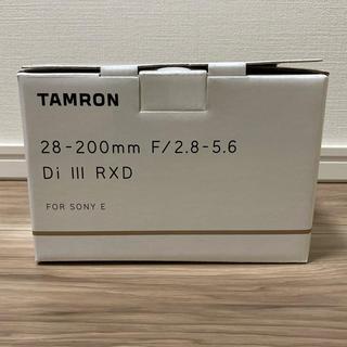 TAMRON - 新品 タムロン TAMRON 28-200mm F2.8-5.6