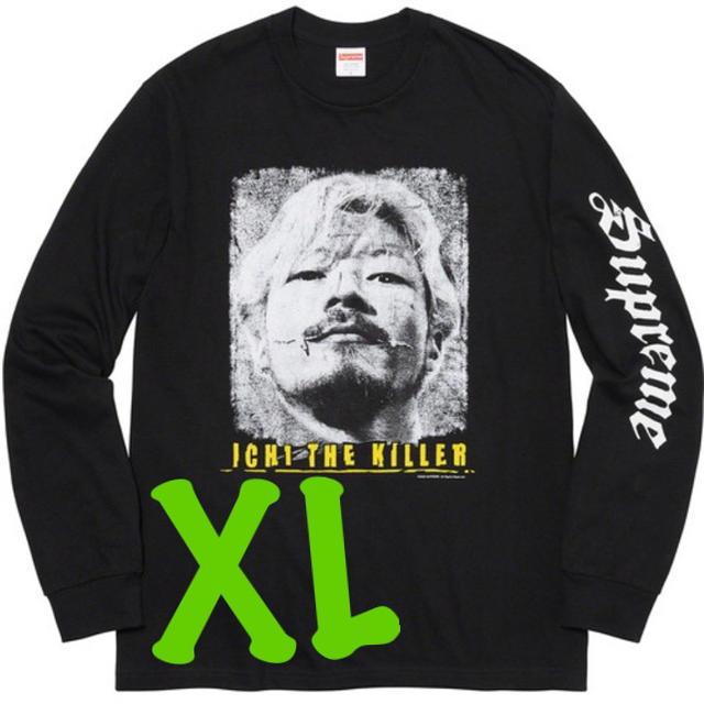 Supreme(シュプリーム)のXL Supreme Ichi The Killer L/S Tee 黒 メンズのトップス(Tシャツ/カットソー(七分/長袖))の商品写真