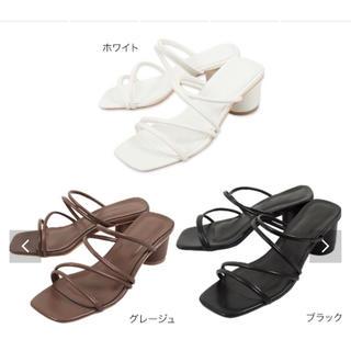 コウベレタス(神戸レタス)の新品未使用 神戸レタス コードストラップミュールサンダル(サンダル)