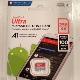 SanDisk - マイクロSDカード 256GB サンディスク