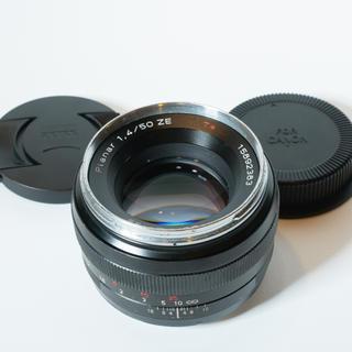 Canon - お買い得Carl zeiss Planar 50mm f1.4 ZEキヤノン用