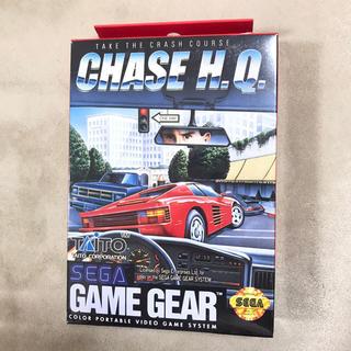 SEGA - 新品 セガ CHASE H.Q. 海外版 ゲームギア ソフト タイトー