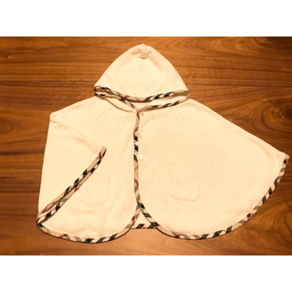 BURBERRY - バーバリー ポンチョ ケープ カーディガン 羽織り アウター