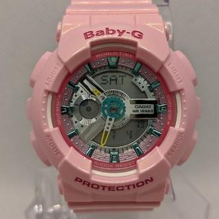 ベビージー(Baby-G)のG-SHOCK baby-G BA-110CA-4AJF ピンク(腕時計(デジタル))