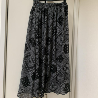 INGNI - INGNI ペイズリー柄スカート