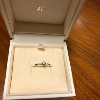 4℃ - 4℃ プラチナ ダイヤモンドリング