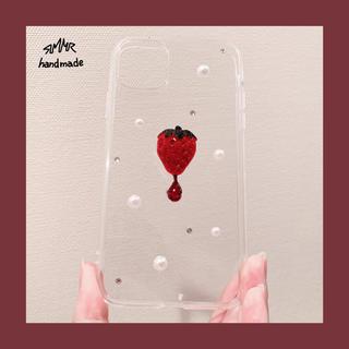 ダークストロベリーレジン iPhone11ケース (iPhoneケース)
