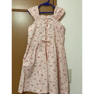ファミリア(familiar)のArt letter 女児ワンピース  サイズ130(ワンピース)